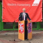 Maikundgebung in Frankenberg